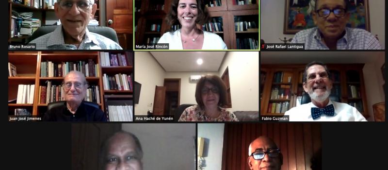 Presentan el Instituto Guzmán Ariza de Lexicografía en sesión virtual de la Academia Dominicana de la Lengua